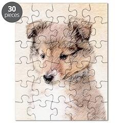 Shetland Sheepdog Puppy Puzzle