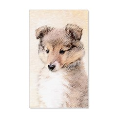 Shetland Sheepdog Puppy Wall Decal