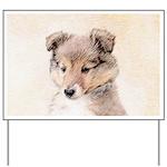 Shetland Sheepdog Puppy Yard Sign