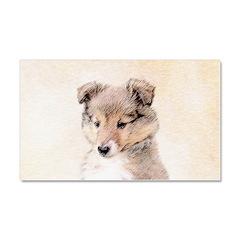 Shetland Sheepdog Puppy Car Magnet 20 x 12