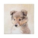 Shetland Sheepdog Puppy Queen Duvet