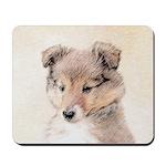 Shetland Sheepdog Puppy Mousepad