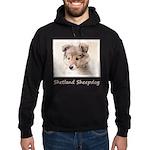 Shetland Sheepdog Puppy Hoodie (dark)
