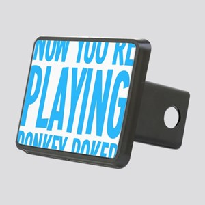 nowyoureplayingb Rectangular Hitch Cover