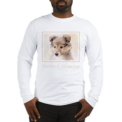 Shetland Sheepdog Puppy Long Sleeve T-Shirt