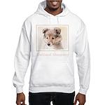 Shetland Sheepdog Puppy Hooded Sweatshirt