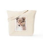 Shetland Sheepdog Puppy Tote Bag