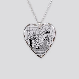 7976_dishes_cartoon Necklace Heart Charm
