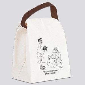 1186_abacus_cartoon Canvas Lunch Bag
