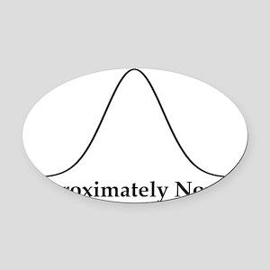 normal Oval Car Magnet