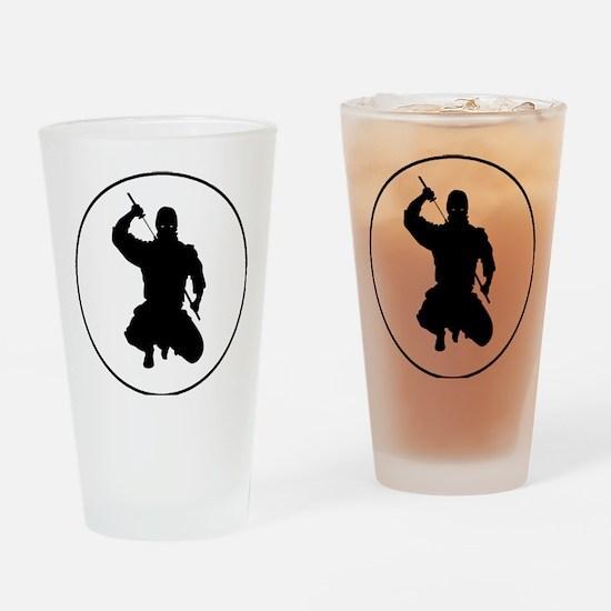 readthisninja1 Drinking Glass