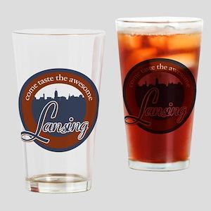 Lansing1 Drinking Glass