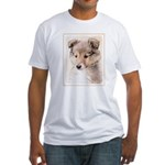 Shetland Sheepdog Puppy Fitted T-Shirt