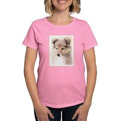 Shetland Sheepdog Puppy Women's Dark T-Shirt