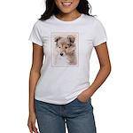 Shetland Sheepdog Pu Women's Classic White T-Shirt