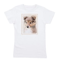 Shetland Sheepdog Puppy Girl's Tee