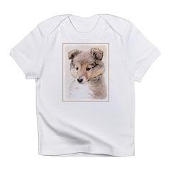 Shetland Sheepdog Puppy Infant T-Shirt