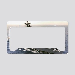 lockwood ff large framed prin License Plate Holder
