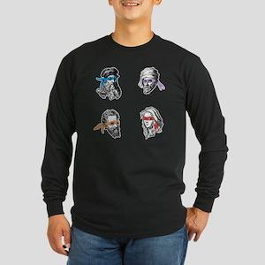 ninjapolymathsEXTRAS Long Sleeve Dark T-Shirt