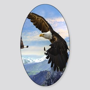 eagles3 Sticker (Oval)