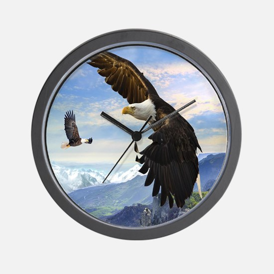 eagles3 Wall Clock
