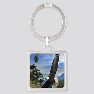 eagles1 Square Keychain