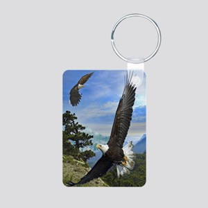 eagles1 Aluminum Photo Keychain