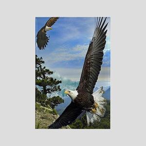 eagles1 Rectangle Magnet