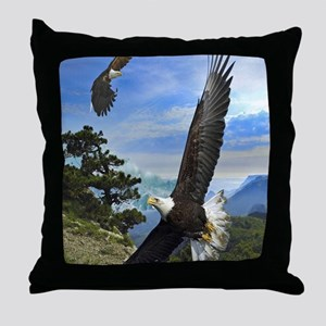 eagles1 Throw Pillow