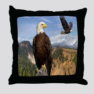 eagles2 Throw Pillow