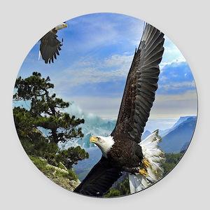 eagles1 Round Car Magnet