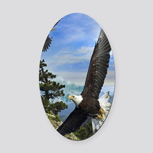 eagles1 Oval Car Magnet