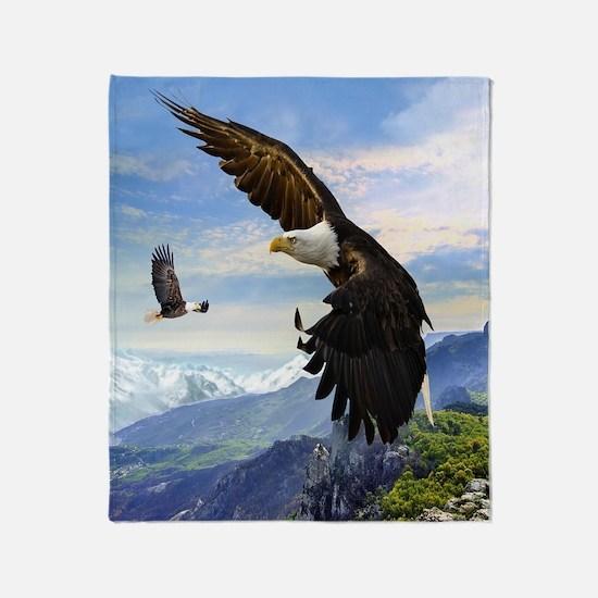 eagles3 Throw Blanket