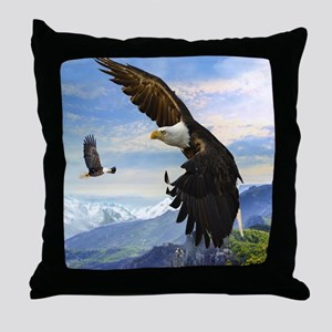 eagles3 Throw Pillow