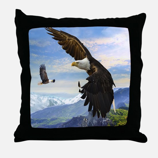 eagles3 Throw Pillow
