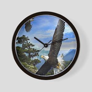 eagles1 Wall Clock