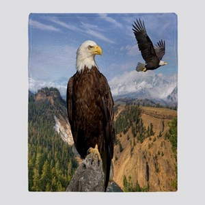eagles2 Throw Blanket
