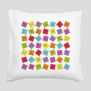periodic_sq_1 Square Canvas Pillow