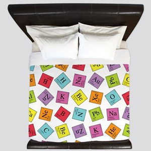 periodic_sq_1 King Duvet