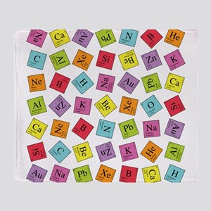 periodic_sq_1 Throw Blanket