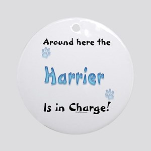 Harrier Charge Ornament (Round)
