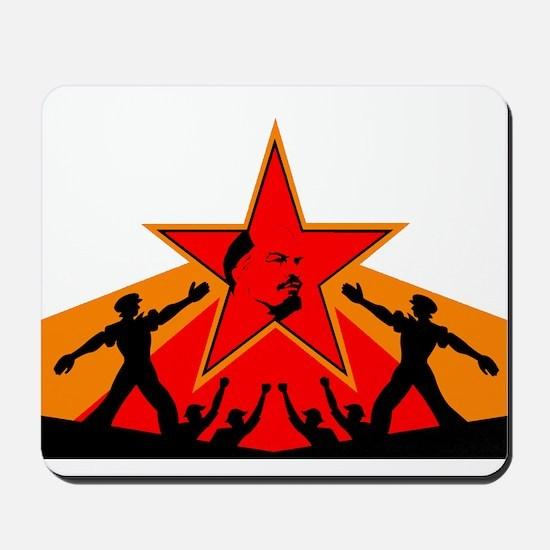 Lenin's Star Mousepad