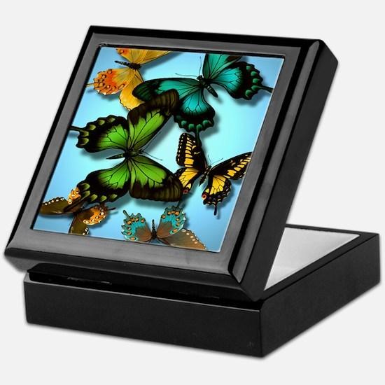 butterflies Keepsake Box