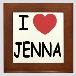 JENNA Framed Tile