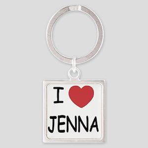 JENNA Square Keychain