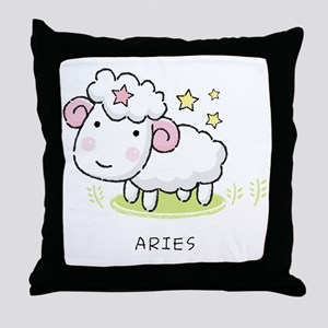 kidszodiacaries Throw Pillow