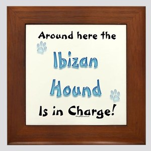 Ibizan Charge Framed Tile