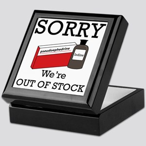 Out-Of-Stock Keepsake Box