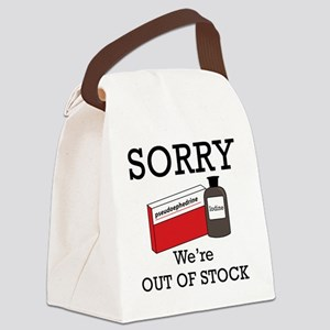 Out-Of-Stock Canvas Lunch Bag