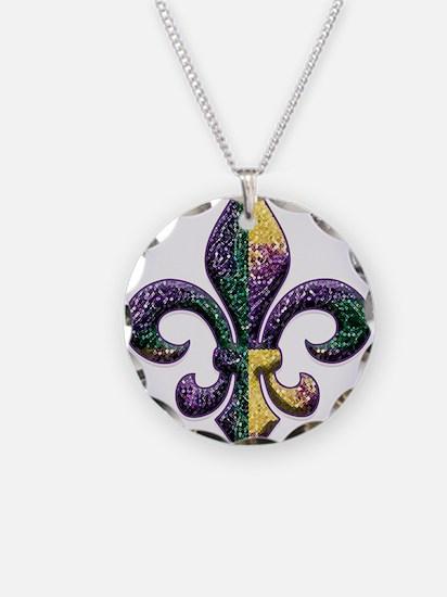 FleurMGbeadsOfBc Necklace Circle Charm